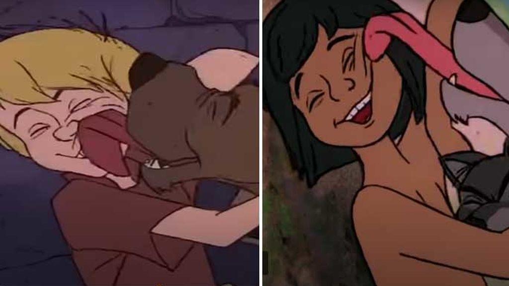 La espada de la piedra  (1963) vs. El libro de la selva (1967)