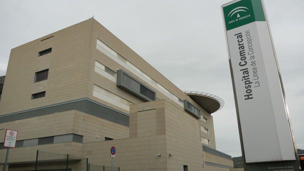 Otra imagen del hospital de La Línea de la Concepción