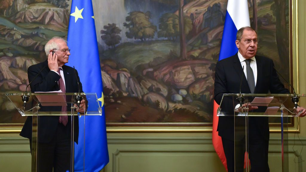 Bruselas endurece su mensaje a Rusia tras el tormentoso viaje de Borrell a Moscú