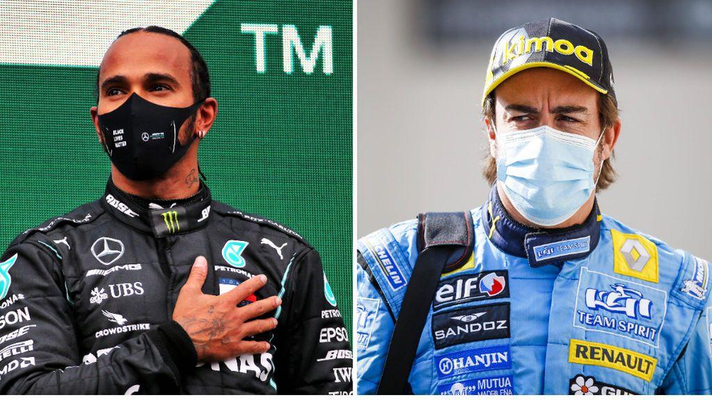 La Fórmula 1 pone precio a sus pilotos: Hamilton, el más caro, y Alonso, el octavo