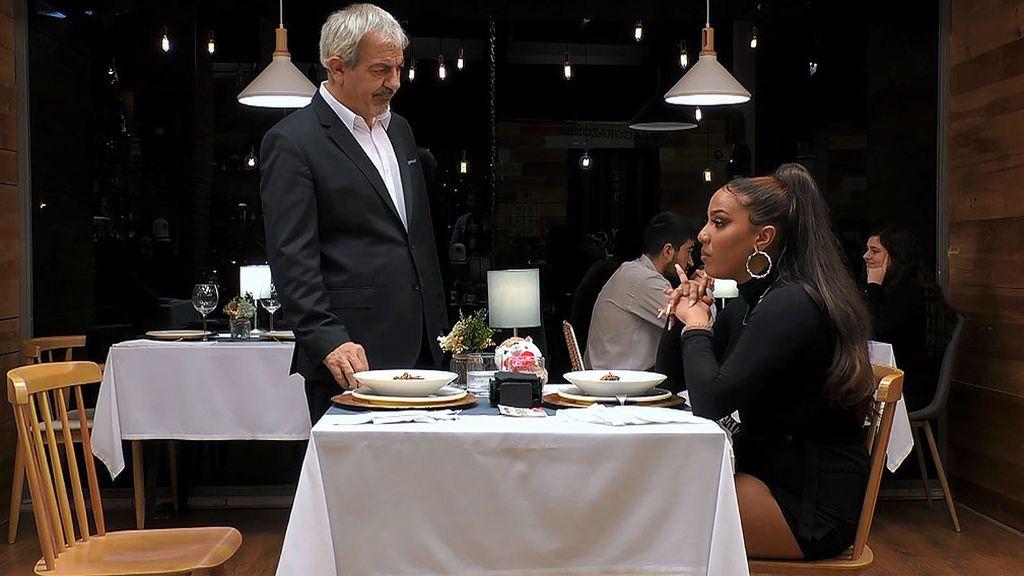 La gran espantada de San Valentín: Cristian deja plantada a su cita en mitad de la cena