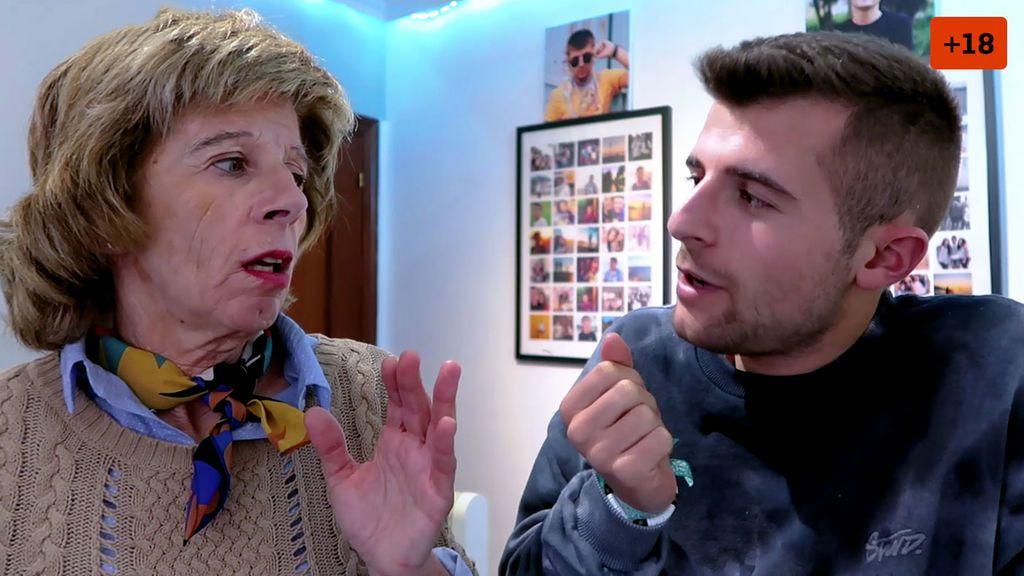 Iban García se hace Onlyfans y muestra la reacción de su madre al descubrirlo (2/2)