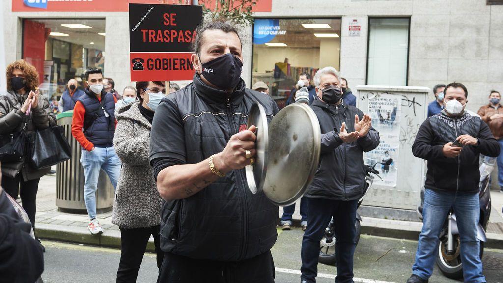 Protesta hosteleros