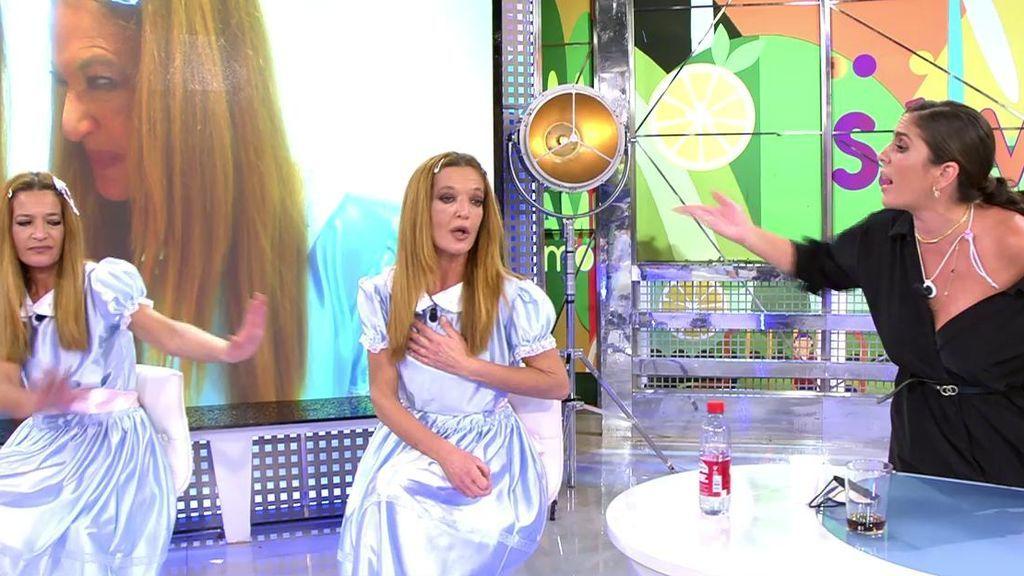 Anabel Pantoja pierde los nervios y abandona el plató de 'Sálvame' tras una insinuación de Las Mellis
