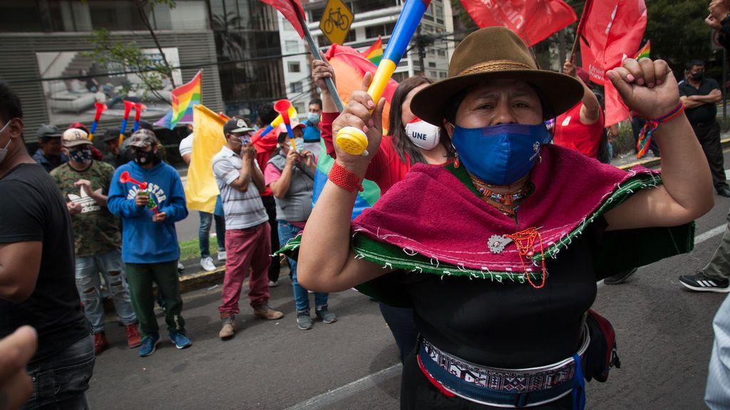 """Ecuador  podría tardar """"días"""" en concretar qué candidato acompañará a Arauz en la segunda vuelta"""