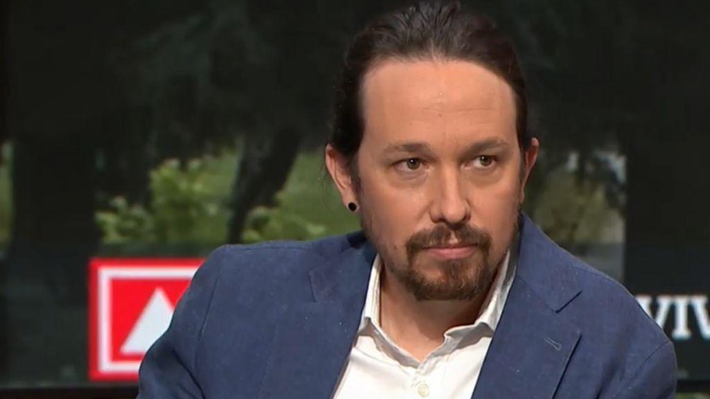 """Iglesias ironiza llamando """"normalidad democrática"""" a la mediación del juez López para reunir al PP con Bárcenas"""