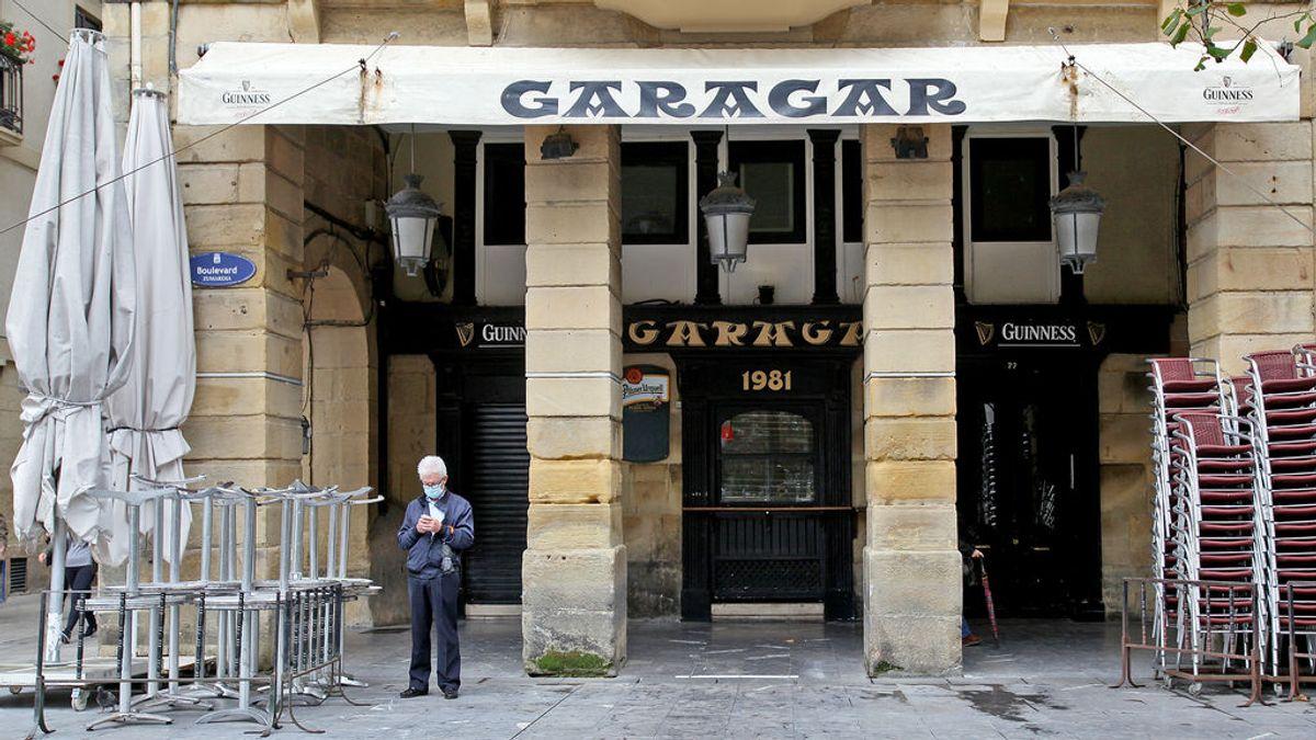 La Justicia obliga a reabrir los bares y restaurantes de los municipios de Euskadi con alta incidencia por covid