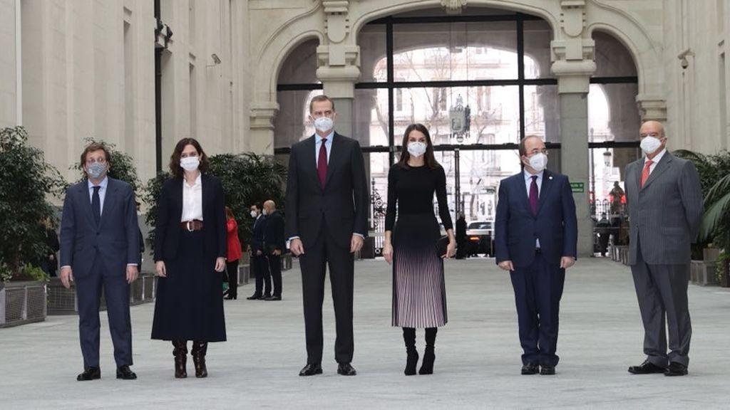 """El rey en los Premios APM de Periodismo: """"Sin información no hay democracia"""""""
