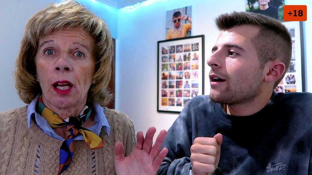Iban García se hace Onlyfans y muestra la reacción de su madre al descubrirlo (1/2)