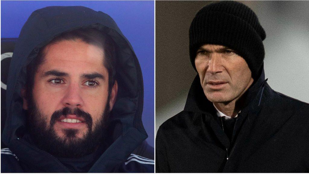 Un palo más para Isco: Zidane le sentencia y pone a la cantera por encima de él
