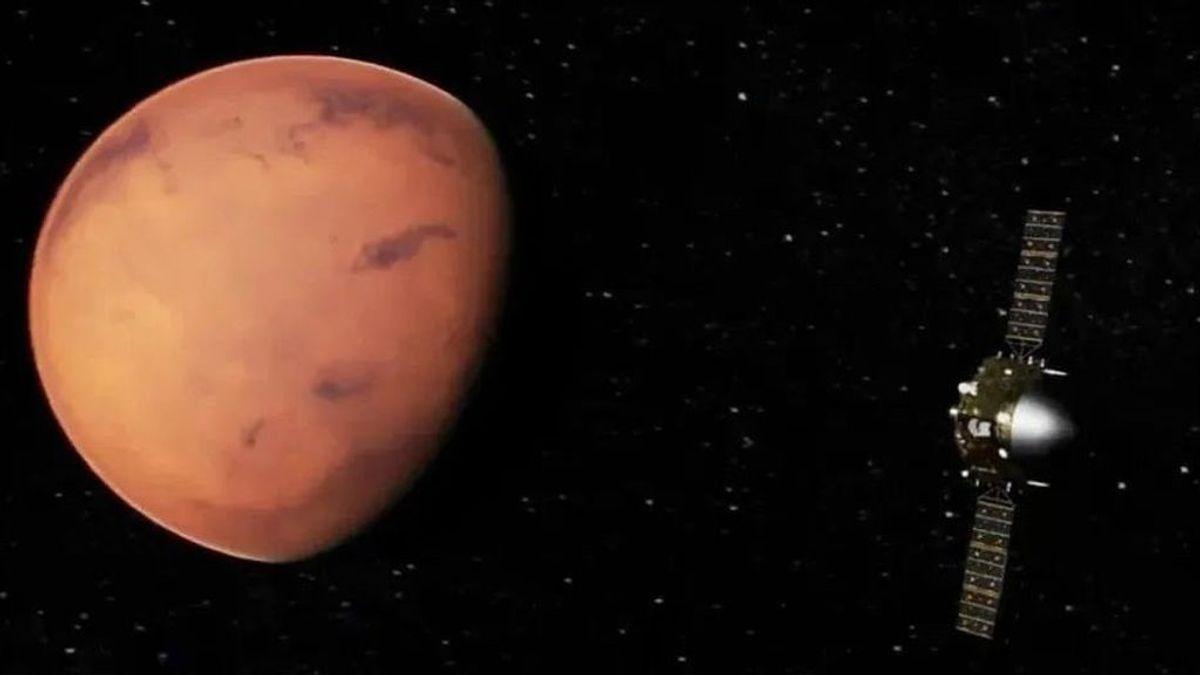 La misión de China alcanza la órbita de Marte