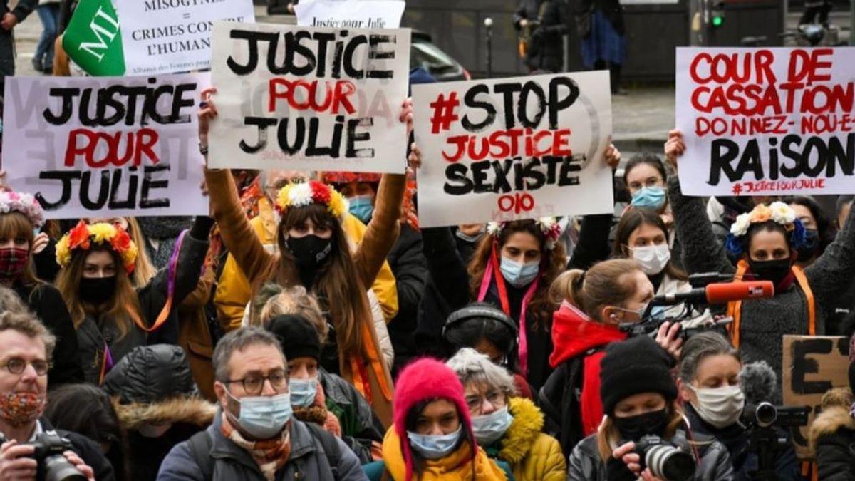 Indignación en Francia por el caso Julie: una menor que fue presuntamente violada por 20 bomberos