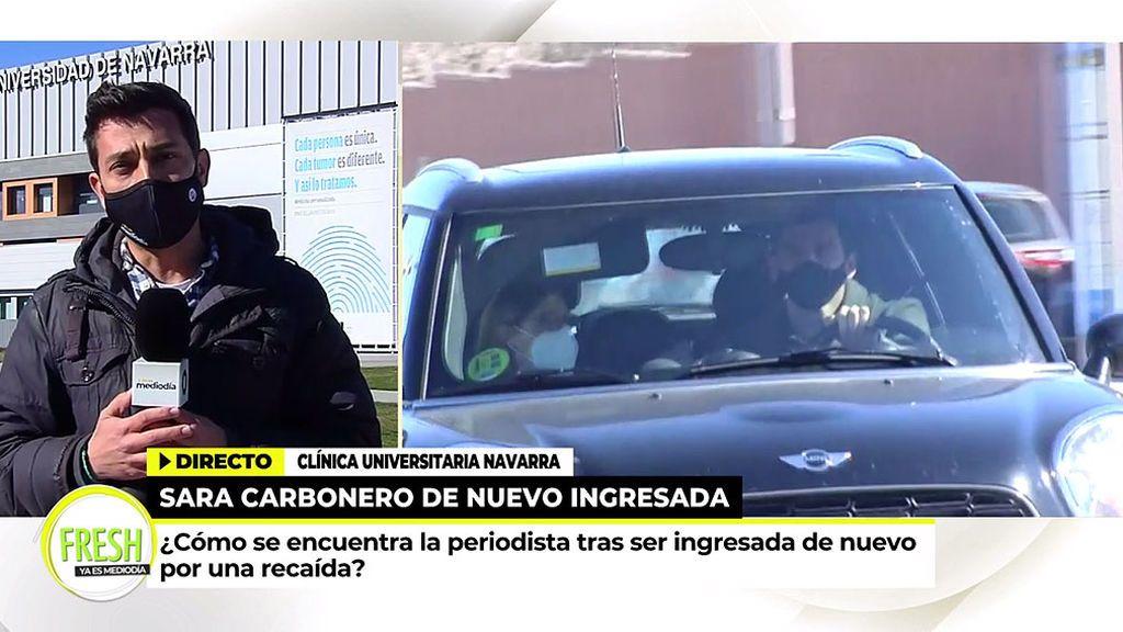 Iker Casilla saliendo de la Clínica Universidad de NavarraIker Casilla saliendo de la Clínica Universidad de Navarra