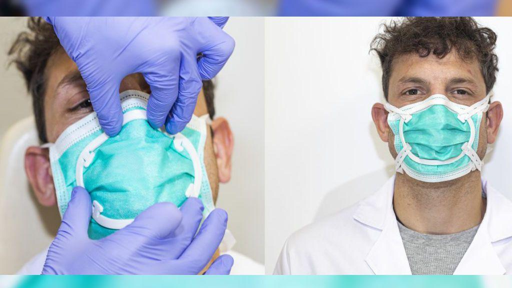 El invento español que ajusta tu mascarilla para que no te contagien los aerosoles