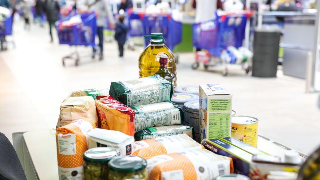 Los bancos de alimentos atienden a 1,6 millones de personas, casi 600.000 personas más que antes de la pandemia