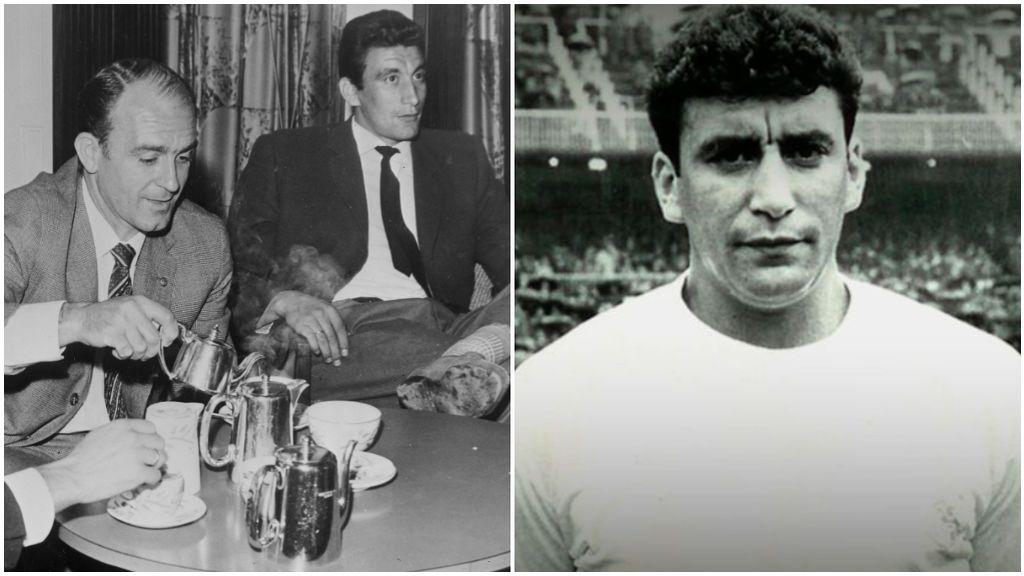 Pachín, leyenda del Real Madrid.