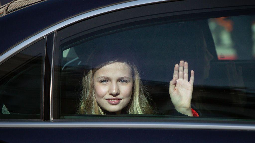 Los reyes mandan a la princesa Leonor a estudiar Bachillerato a Gales, en el Reino Unido