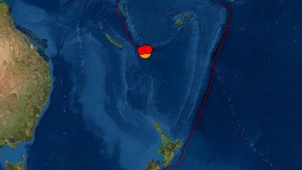 Alerta de tsunami en el Pacífico tras un poderoso terremoto de 7,7 al norte de Nueva Zelanda