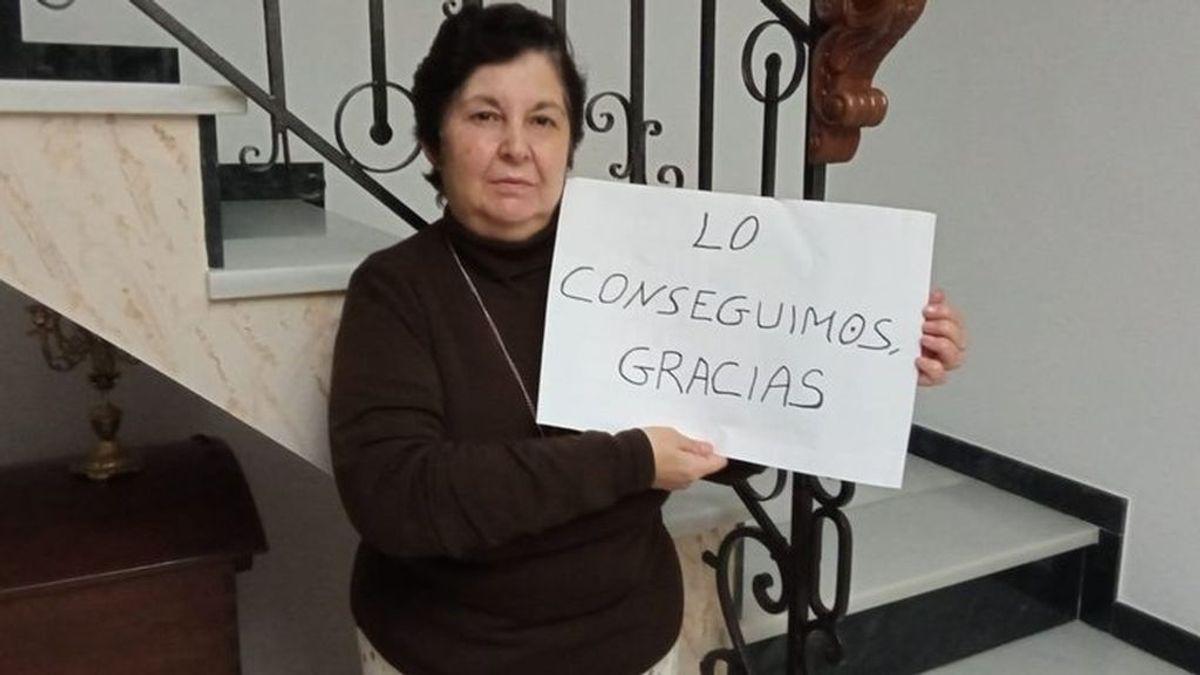 Teresa, enferma de esclerosis, consigue que le reanuden el tratamiento