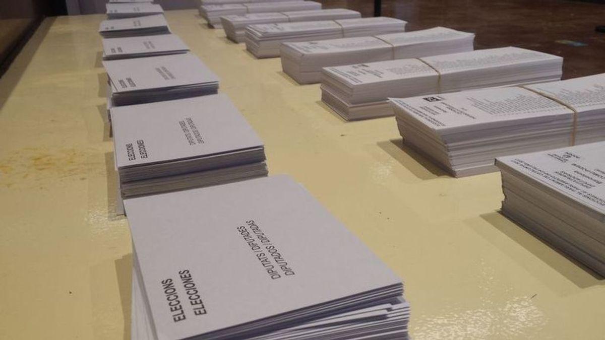 Normalidad en la apertura de colegios y en la constitución de las mesas en las elecciones catalanas