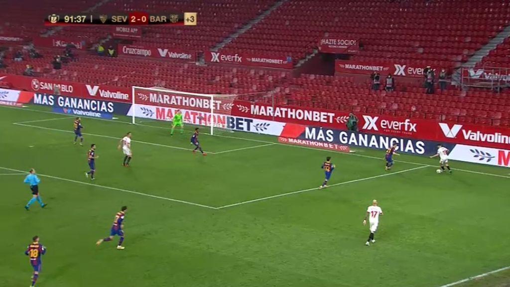 El Sevilla-Barça de Copa del Rey se alza como la emisión más vista del año
