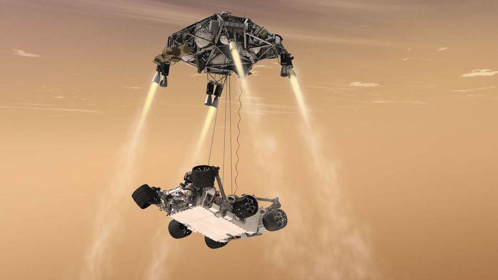 La NASA no quiere que pierdas detalle: cómo ver y escuchar el aterrizaje en Marte en directo