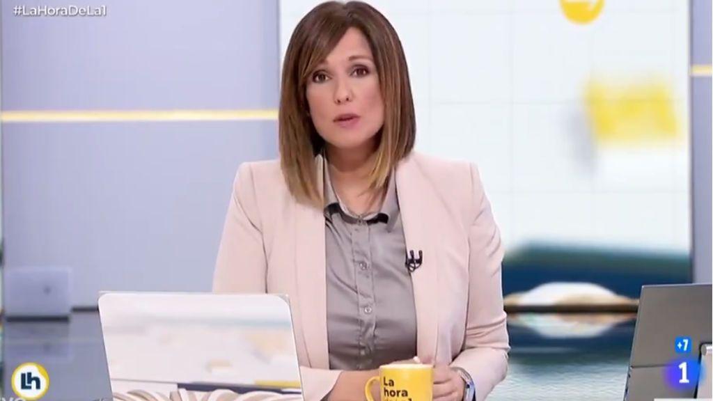 """Mónica López, directora de 'La Hora de la 1' pide disculpas por el """"error"""" del rótulo de la Princesa Leonor"""