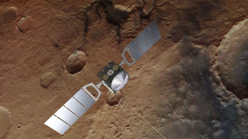 Descubren que la atmósfera de Marte emana vapor de agua: ¿Significa que hay vida?