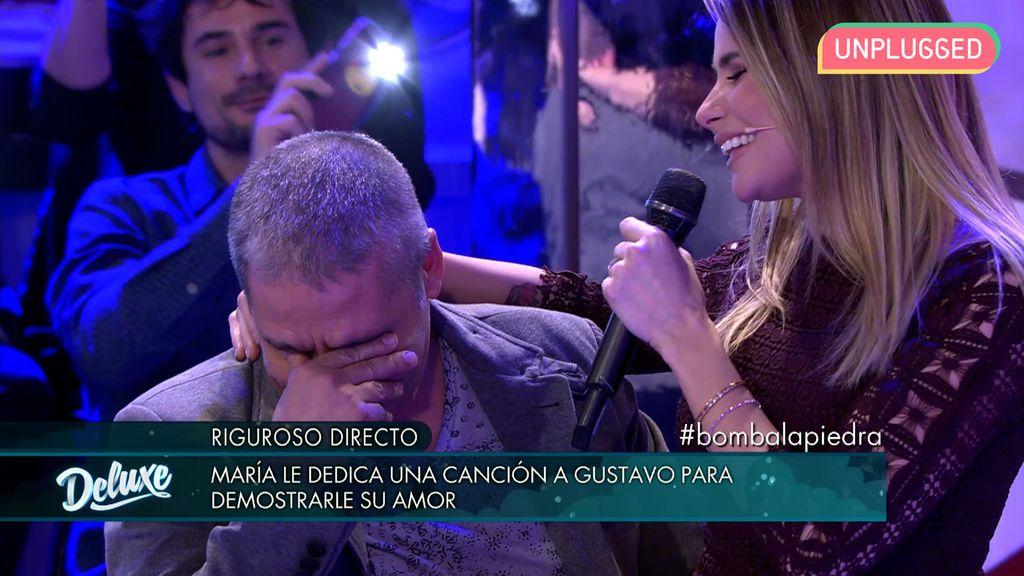 Gustavo González y María Lapiedra en 'Sábado Deluxe'