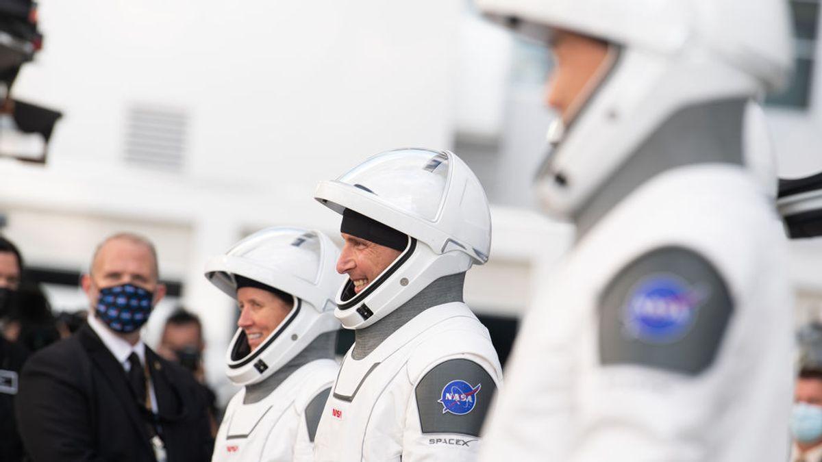 cabo cañaveral astronautas NASA y JAXA
