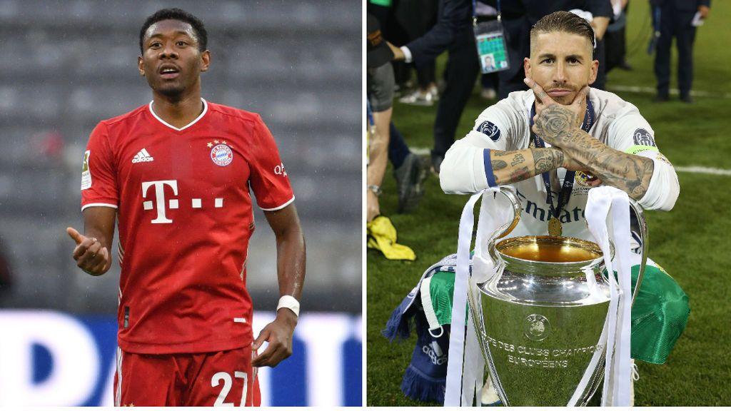 Alaba pide cobrar 10 millones más que Sergio Ramos para fichar por el Real Madrid