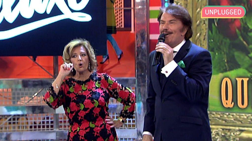 Mª Teresa y Bigote en 'Sábado Deluxe'