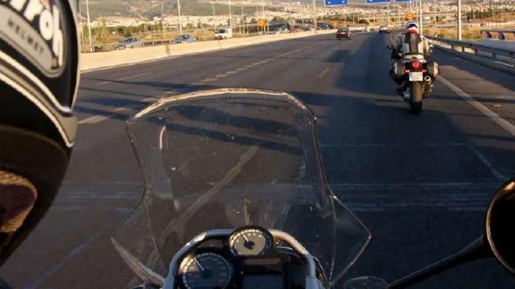 Chaleco con airbag para la moto