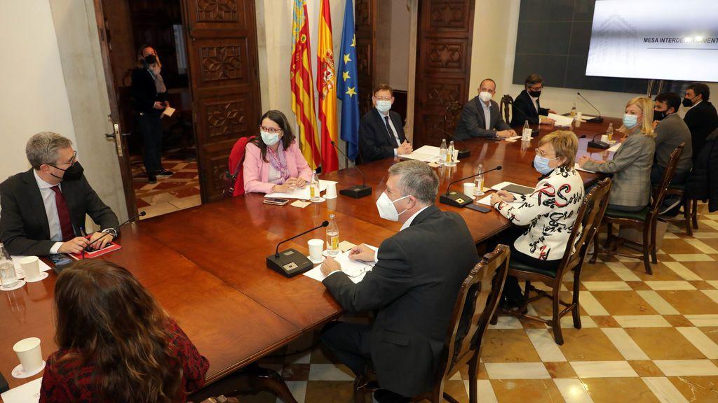 [no publicar]La Generalitat Valenciana mantiene todas las restricciones hasta al menos el 1 de marzo