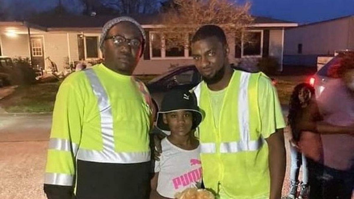 Dos trabajadores se convierten en héroes al salvar a una niña de 10 años de un hombre que la secuestró