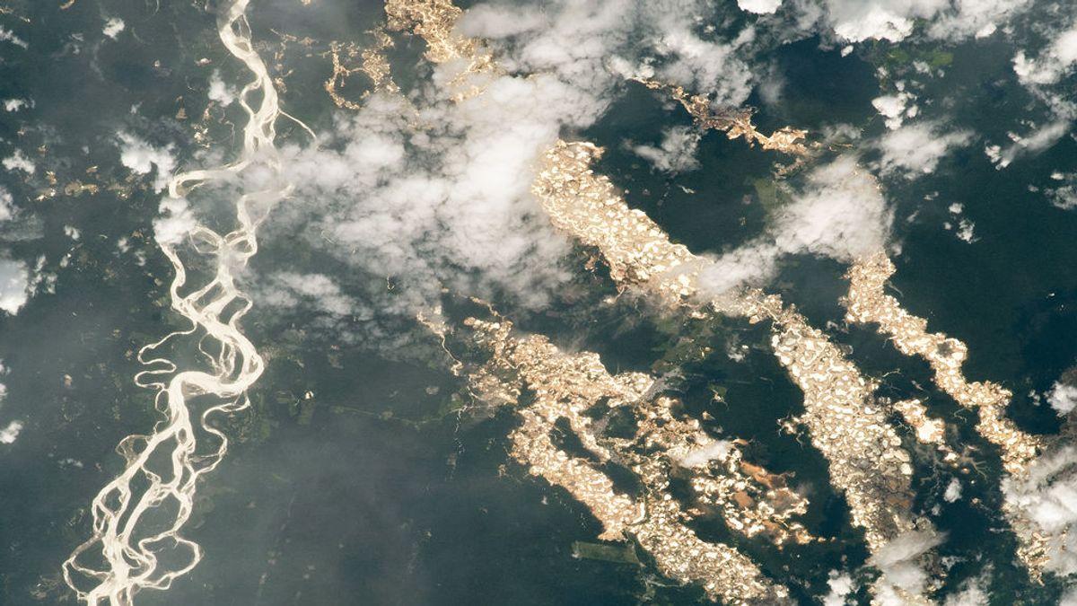 Los 'ríos dorados' que la NASA ha descubierto en Perú: el alcance de la minería ilegal en la Amazonia