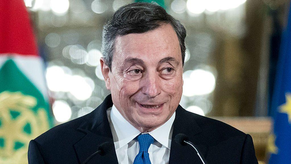 Draghi acepta el encargo de Gobierno...