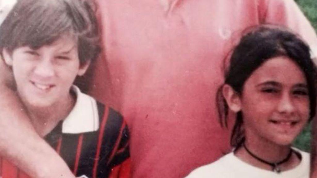Antonella nació en una familia acomododa y conoció a Messi cuando tenían nueve años.