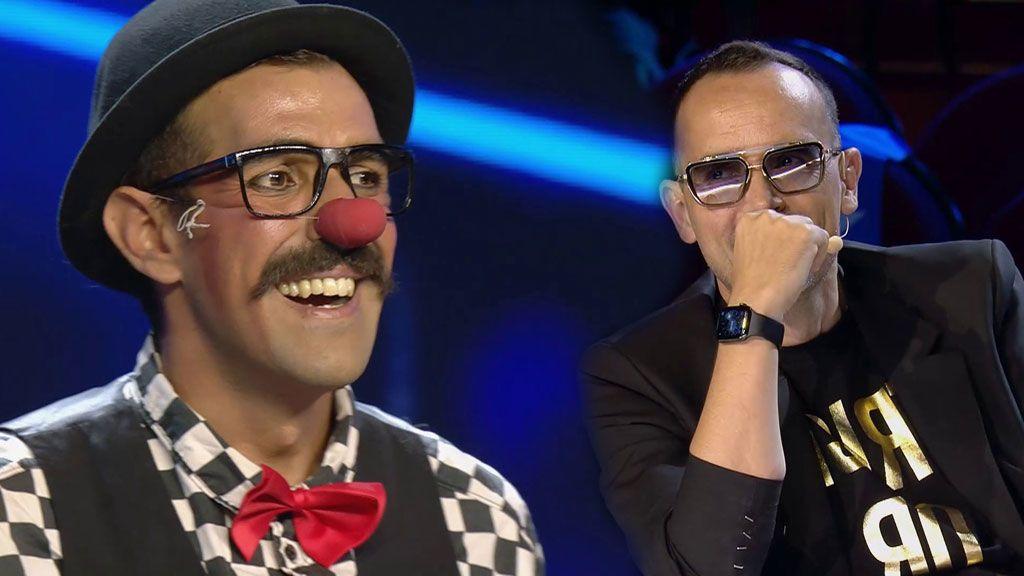 Abel Padilla hace reír a Risto
