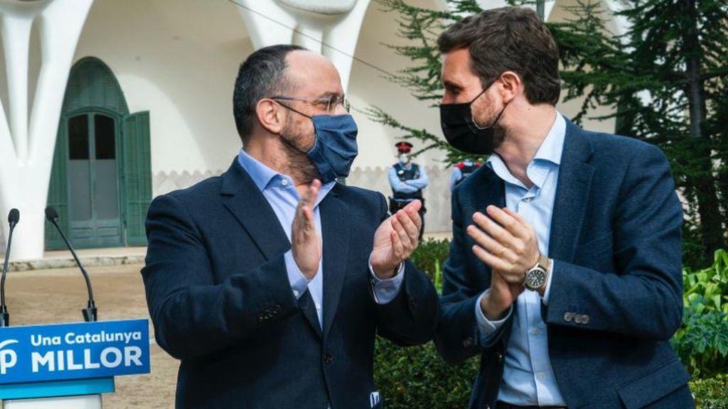 """Casado confía en que el tirón de Alejandro Fernández para movilizar a los indecisos: """"Nada está escrito"""""""