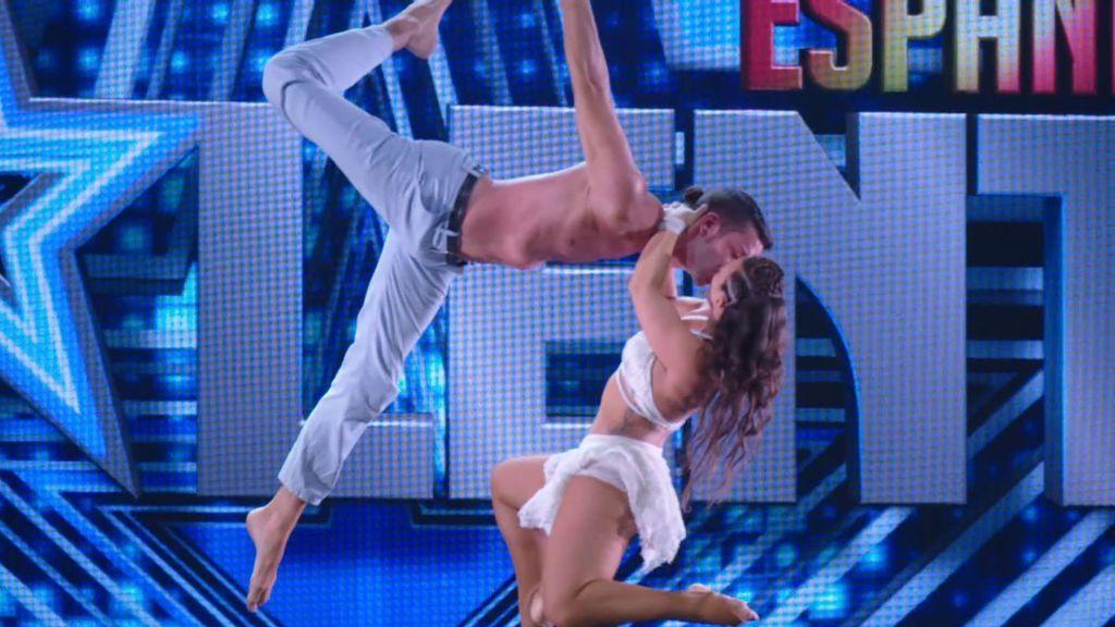 Riesgo y sensualidad en la actuación de Tela Marinera
