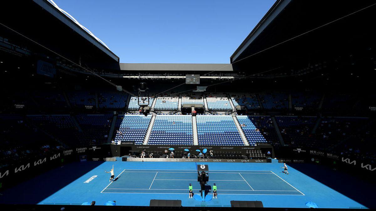 El Open de Australia continúa pero sin público por el confinamiento de Melbourne