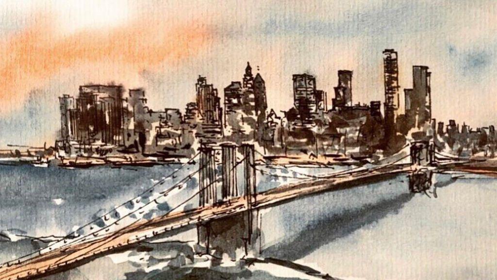 Acuarela de Nueva York, de Paco Somoza