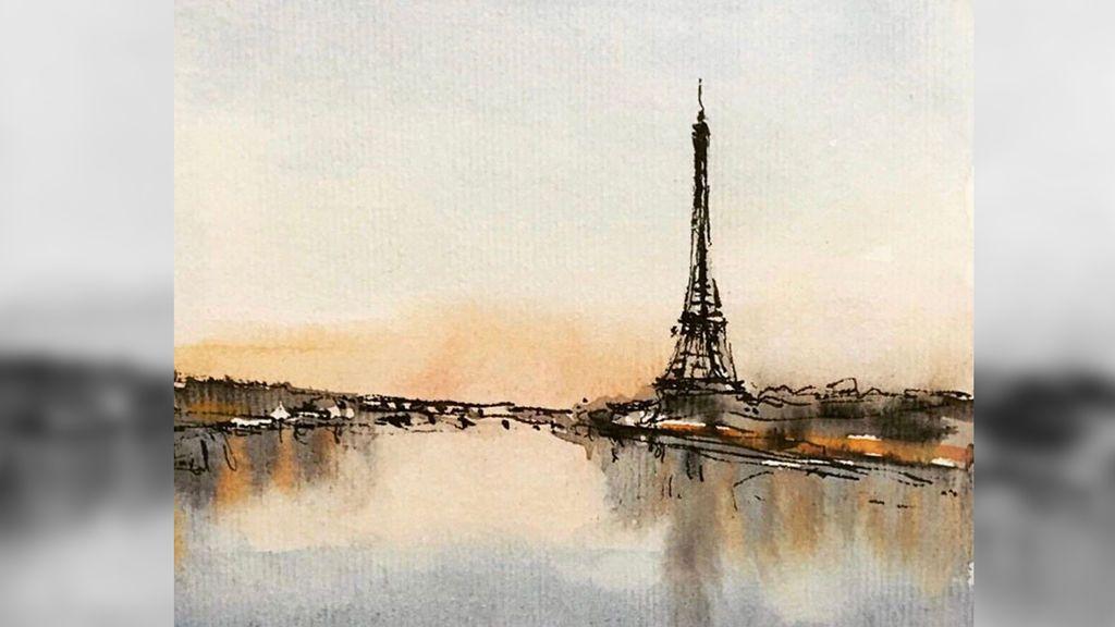 Acuarela de París, de Paco Somoza