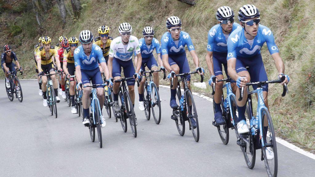 La Vuelta España tiene un recorrido muy montañoso.