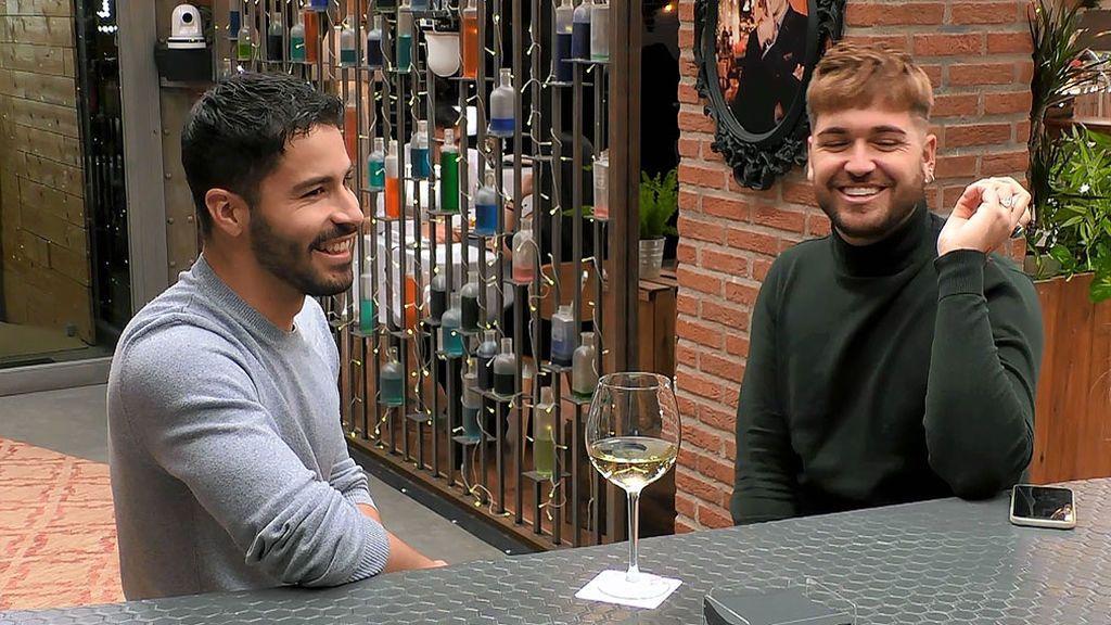 Daniel y Fran en el programa 'First Dates'