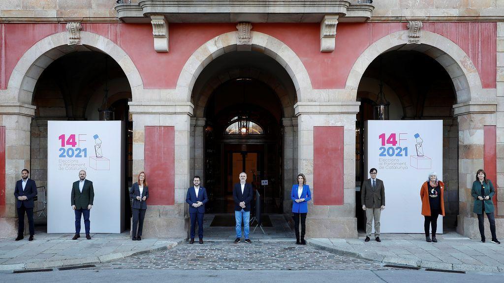 Los candidatos a la Presidencia de la Generalitat pasan la jornada de reflexión entre películas, 'calçots' y arroces