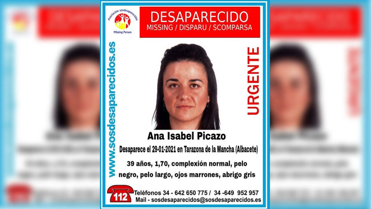 Piden ayuda para encontrar a Ana Isabel Picazo, una mujer de 39 años desaparecida en Albacete