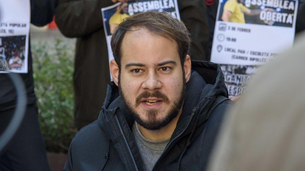"""El rapero Pablo Hasél, tras la muerte de Rodríguez Galindo: """"Otro torturador que se va de rositas"""""""