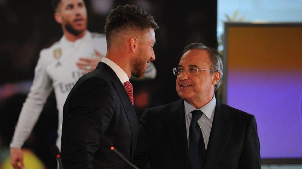 Ramos y Florentino acercan posturas: la recuperación del capitán está favoreciendo el acercamiento